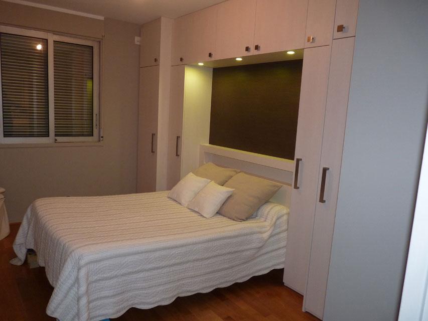 Chambres - Mélaminé structuré avec éclairage LED