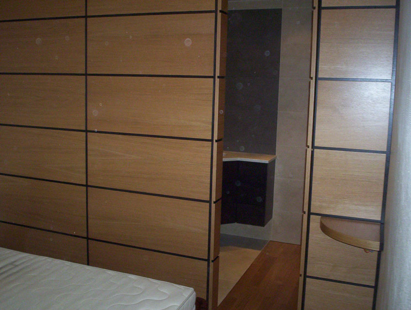 dressing placage ch ne habillage mural fa ades coplanaires. Black Bedroom Furniture Sets. Home Design Ideas