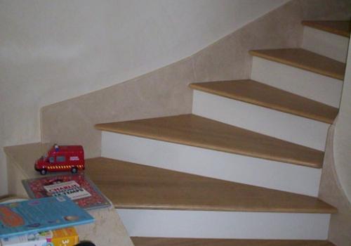 Parquet - Marches d'escalier…