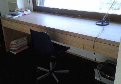 Bureau particulier - Placage…