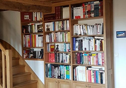 Bibliothèque en Chêne massif…