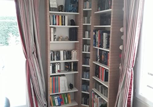 Bibliothèque en Baubuche