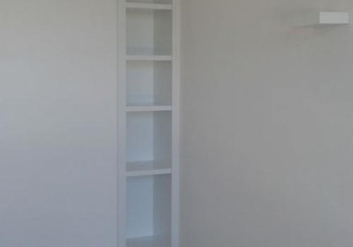 Bibliothèque - Laque blanche